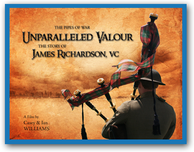 Unparalleled Valour the story of James Richardson, VC